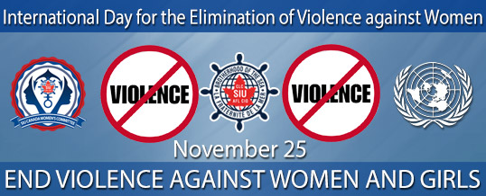 International Day Elimination of Violence against Women Nov. 25