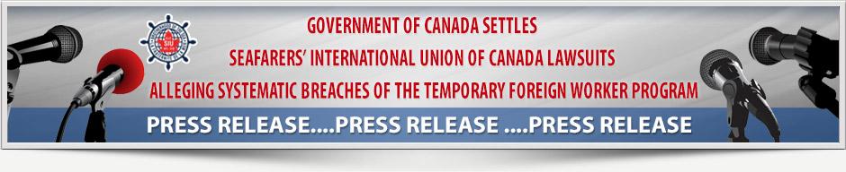 SIU Press Release